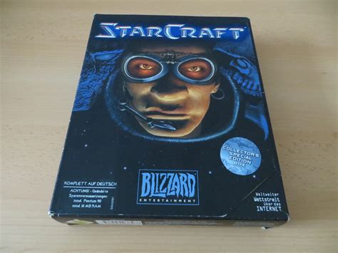 Starcraft 1 - Collectors Special Edition Box / Unboxing