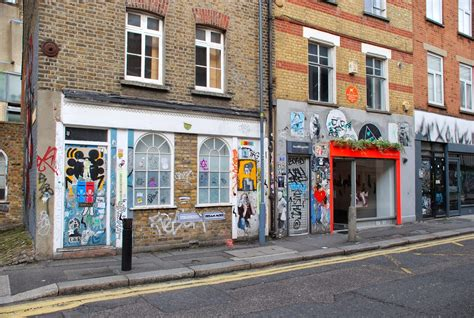 The Squid stories: London Shoreditch walk_a life