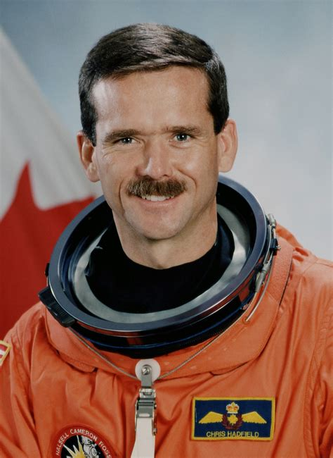 Chris Hadfield the Astronaut, biography, facts and quotes