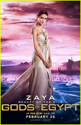 Courtney Eaton is Zaya In 'Gods Of Egypt' – See The Poster