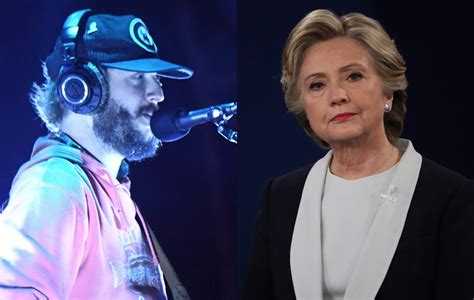 Bon Iver's Justin Vernon hits out at Hillary Clinton for