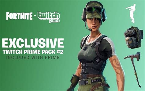 Get exclusive Fortnite skins for free with Twitch Prime