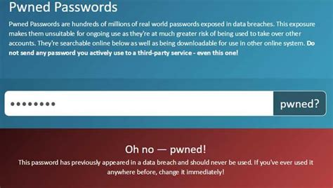 Have I been 'pwned'? Click here to find out safety status