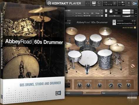 Download Native Instruments Abbey Road 60s Drummer 1