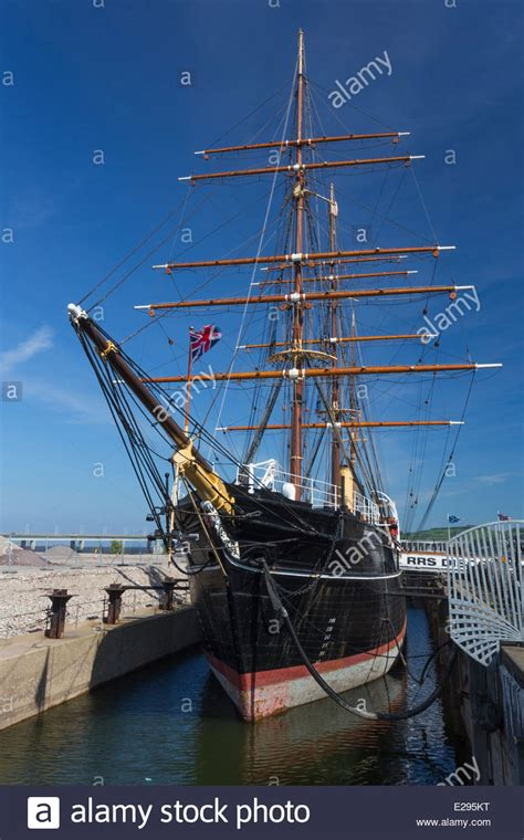 Royal Research Ship RRS Discovery in Dundee Stock Photo