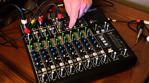 How to set up & use a Mackie 1202-VLZ4 Mixer for