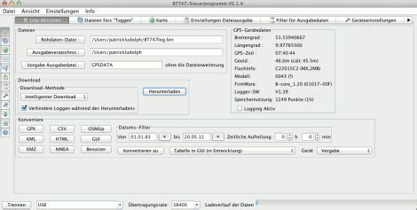 GPS-Tagging Test: Foolography Unleashed + Holux M-241 an