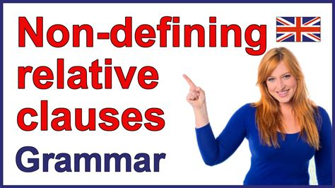 Non-defining relative clauses   English grammar rules