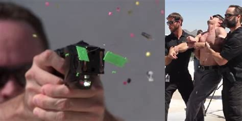 Guy Gets Tasered in Extreme Slow Motion