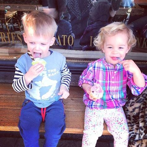 Hilary Duff's Son Luca and Jack Osbourne's Daughter Pearl