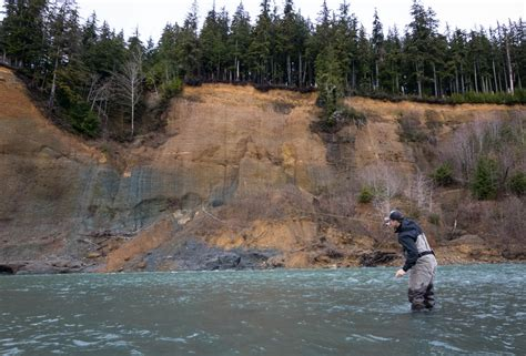 Queets River Steelhead Fly Fishing Guides