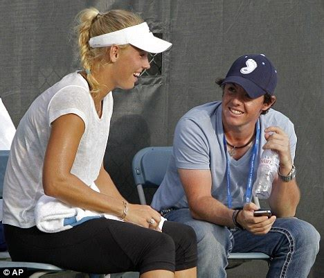 All Super Stars: Rory McIlroy With His Girlfriend In
