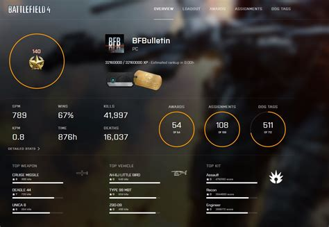 """Battlefield Bulletin on Twitter: """"You can now check your"""