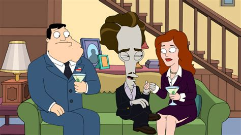 """AMERICAN DAD """"The Scarlett Getter"""" Review 