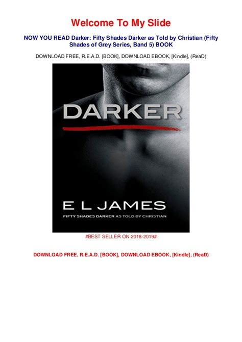 Fifty shades darker told by christian pdf, lowglow